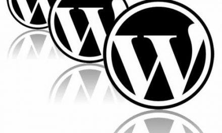 WordPress weboldal admin felület