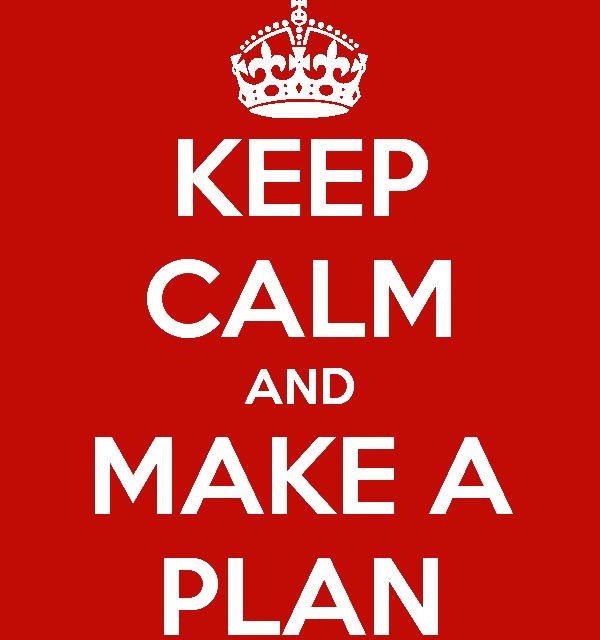 Tervezz, tervezz és tartsd be a terveid