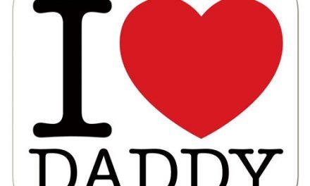 Szeretlek apa – I love daddy