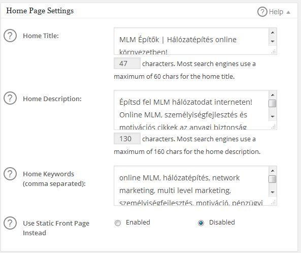 wordpres-alapozo-tanfolyam-wordpress-all-in-seo-pack-bovitmeny-homes-page-settings