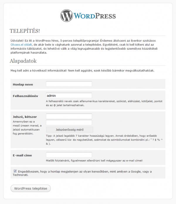 wordpress-telepites-konfigurációja-ingyenes-wordpres-alapozo-tanfolyam