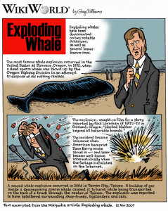exploding whale